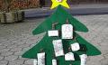 Vánoční hvězda zpapíru